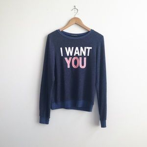 Wildfox : I Want You Sweater Size XS